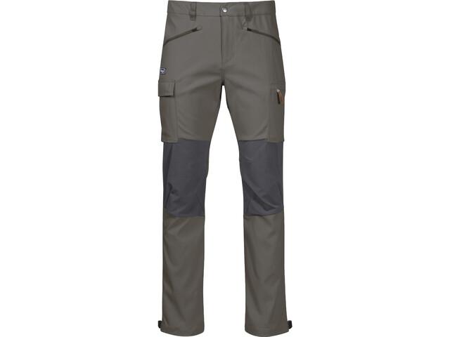 Bergans Nordmarka Hybrid Pantalon Homme, green mud/solid dark grey